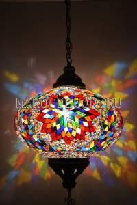 Турецкий мозаичный светильник арт.НМ-032Т/в, салон светильников МАРОКДекор