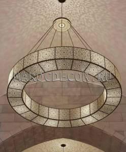 Марокканская люстра в современном восточном стиле арт.114