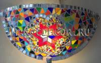Настенный мозаичный светильник арт.YPL101