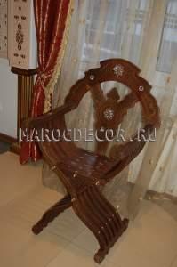 Складной стул в марокканском стиле арт.SH-33, восточный магазин
