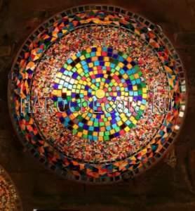Настенный мозаичный светильник арт.PLF250, Турция