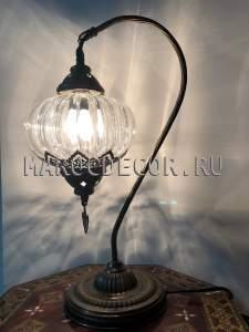 Восточная настольная лампа арт.CDE217, магазин восточных светильников