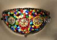 Настенный мозаичный светильник арт.YPL130, /шоу рум восточных светильников Марокдекор/