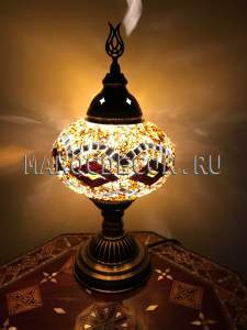 Восточная мозаичная лампа арт.TA-01
