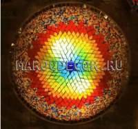 Мозаичный светильник в восточном стиле арт.PLF240