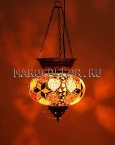 Подвесной восточный светильник арт.UAM116/1
