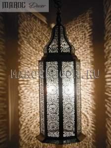 Марокканский светильник-фонарь арт.041, ручная работа