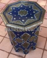Марокканский столик с чеканкой арт.TK-2