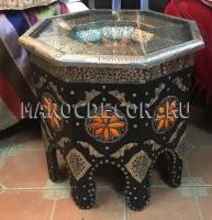 Марокканский столик восьмиугольный