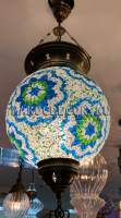 Мозаичный турецкий светильник арт.HM-S-AA130-12