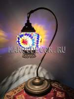 Турецкая мозаичная лампа арт.SWL-08