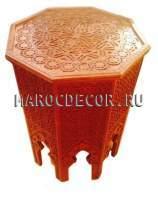 Марокканский резной столик арт.TB-95