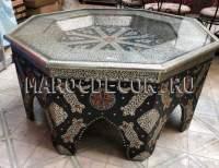 Марокканский журнальный стол арт.ТМ-145