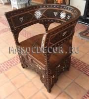 Кресло в восточном стиле арт.MAR-221, ручная работа