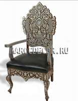 Восточное кресло с перламутром арт.SH-37