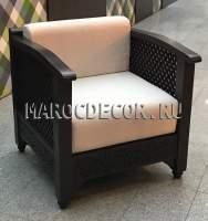 Кресло в восточном стиле арт.MAR-122, в наличии