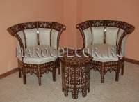 Восточное кресло арт.SH-341, марокдекор