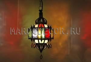 Марокканский подвесной фонарь от марокдекор