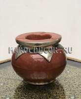 Марокканская пепельница , коричневая