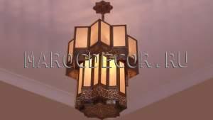 Марокканская люстра в современном стиле арт.MAROC-6