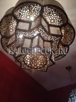 Люстра в восточном стиле из Марокко арт.MAR-212
