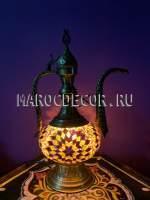 Восточная мозаичная лампа-кувшин арт.EWR-227