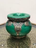 Марокканская пепельница с чеканкой арт.Сеnt-12