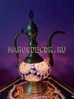 Купить мозаичную лампу, купить недорого мозаичную лампу, купить настольную лампу, мозаичная настольная лампа, купить мозаичную лампу, восточное освещение, восточный декор, восточный интерьер, купить лампу, купить восточный светильник