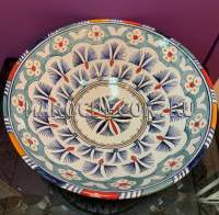 Восточная керамическая тарелка