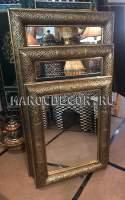 Восточное зеркало с чеканкой, марокдекор