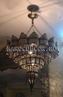 Люстра в марокканском стиле