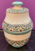 Восточная ваза керамическая ручная роспись