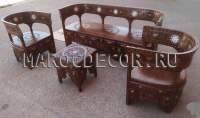 Восточная мебель из Марокко фото