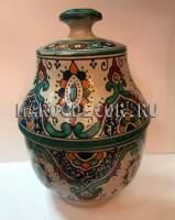 Восточная ваза с росписью