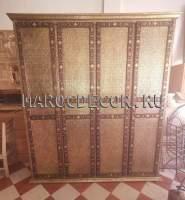 Восточный шкаф арт. PLC-11 цвет чеканки-золото арт. PLC-11