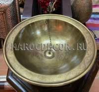 Раковина в марокканском стиле арт. CU-22