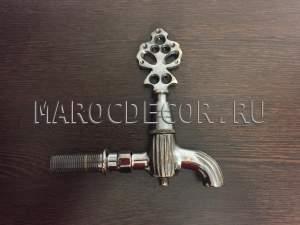 Кран в хамам медный черненный арт. KR-05/1