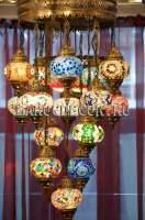 Каскадная люстра с 15 плафонами фото марокдекор