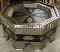 Марокканский стол с чеканкой арт.MARRAKECH-15