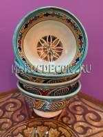 Керамическая пиала из Марокко арт. BL-20