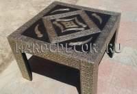Журнальный столик из дерева арт.MARRAKECH-97