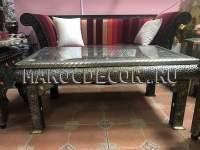 прямоугольный столик из Марокко