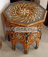 Резной кофейный столик из Марокко