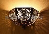 Светильник в турецкую баню (хамам) арт.W-075AB