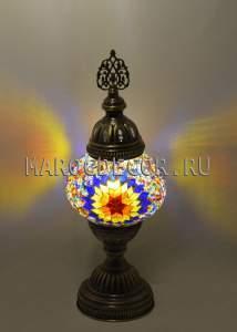 Настольная лампа мозаика арт.TM-016/w