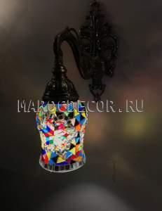Турецкий светильник из мозаики арт.WM-22