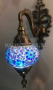 Турецкий мозаичный светильник арт.WM-014/8