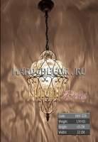 Подвесной светильник, латунь, стекло арт.HOF-22B