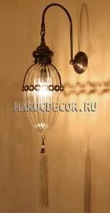 Восточный светильник настенный арт.W-187
