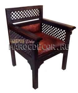 Кресло в восточном стиле арт.MAR-11/1
